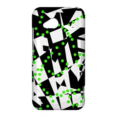 Black, white and green chaos HTC Droid Incredible 4G LTE Hardshell Case