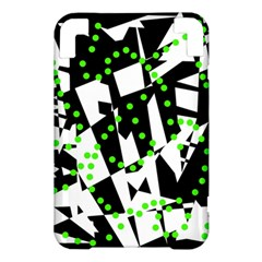 Black, white and green chaos Kindle 3 Keyboard 3G