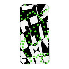 Black, white and green chaos Apple iPod Touch 5 Hardshell Case
