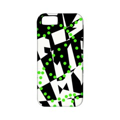 Black, white and green chaos Apple iPhone 5 Classic Hardshell Case (PC+Silicone)