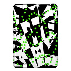 Black, white and green chaos Kindle Fire HD 8.9