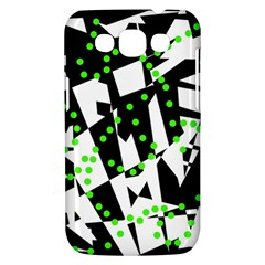 Black, white and green chaos Samsung Galaxy Win I8550 Hardshell Case