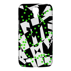 Black, white and green chaos Samsung Galaxy Mega 6.3  I9200 Hardshell Case