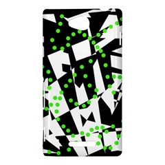 Black, white and green chaos Sony Xperia C (S39H)