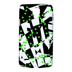 Black, white and green chaos Galaxy S4 Active
