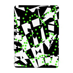 Black, white and green chaos Samsung Galaxy Note 10.1 (P600) Hardshell Case