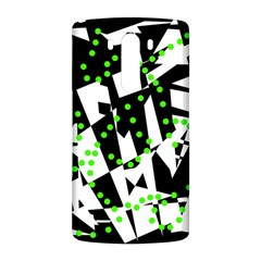 Black, white and green chaos LG G3 Back Case