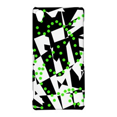 Black, white and green chaos Sony Xperia Z3