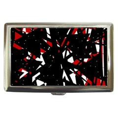 Black, red and white chaos Cigarette Money Cases