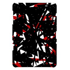 Black, red and white chaos Samsung Galaxy Tab 10.1  P7500 Hardshell Case