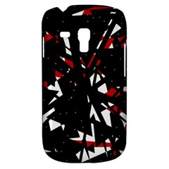 Black, red and white chaos Samsung Galaxy S3 MINI I8190 Hardshell Case