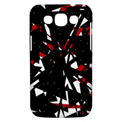 Black, red and white chaos Samsung Galaxy Win I8550 Hardshell Case