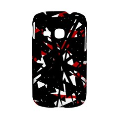 Black, red and white chaos Samsung Galaxy S6310 Hardshell Case