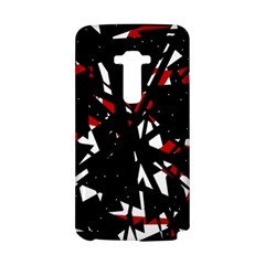 Black, red and white chaos LG G Flex