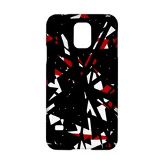 Black, red and white chaos Samsung Galaxy S5 Hardshell Case