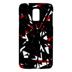 Black, red and white chaos Galaxy S5 Mini