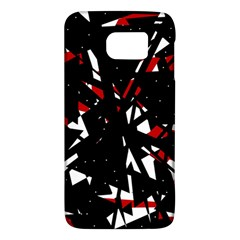 Black, red and white chaos Galaxy S6