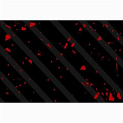 Black and red Collage Prints