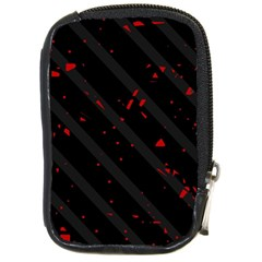 Black and red Compact Camera Cases