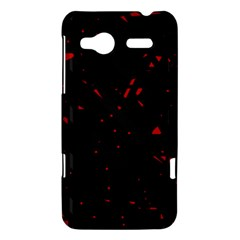 Black and red HTC Radar Hardshell Case