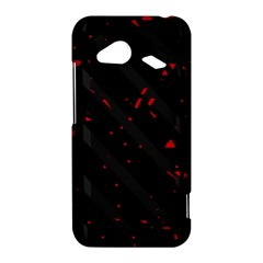 Black and red HTC Droid Incredible 4G LTE Hardshell Case