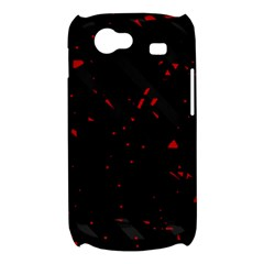 Black and red Samsung Galaxy Nexus S i9020 Hardshell Case