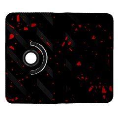 Black and red Samsung Galaxy Note II Flip 360 Case