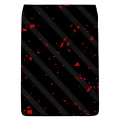 Black and red Flap Covers (S)