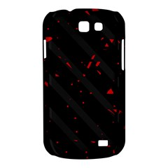 Black and red Samsung Galaxy Express I8730 Hardshell Case