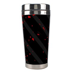 Black and red Stainless Steel Travel Tumblers