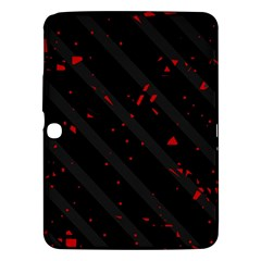 Black and red Samsung Galaxy Tab 3 (10.1 ) P5200 Hardshell Case