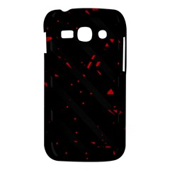 Black and red Samsung Galaxy Ace 3 S7272 Hardshell Case
