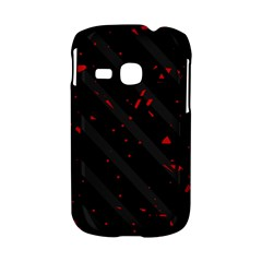 Black and red Samsung Galaxy S6310 Hardshell Case