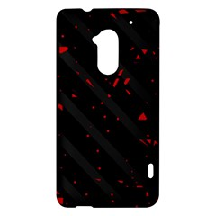 Black and red HTC One Max (T6) Hardshell Case