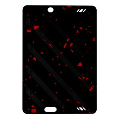 Black and red Amazon Kindle Fire HD (2013) Hardshell Case