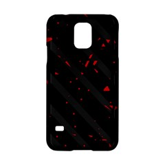 Black and red Samsung Galaxy S5 Hardshell Case