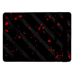 Black and red Samsung Galaxy Tab Pro 12.2  Flip Case