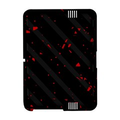Black and red Amazon Kindle Fire (2012) Hardshell Case