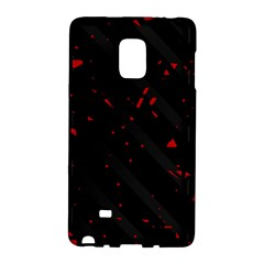Black and red Galaxy Note Edge