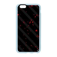 Black and red Apple Seamless iPhone 6/6S Case (Color)