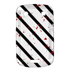 Elegant black, red and white lines Bold Touch 9900 9930