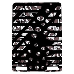 Gray abstract design Kindle Touch 3G