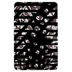 Gray abstract design Kindle Fire (1st Gen) Hardshell Case