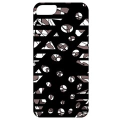 Gray abstract design Apple iPhone 5 Classic Hardshell Case