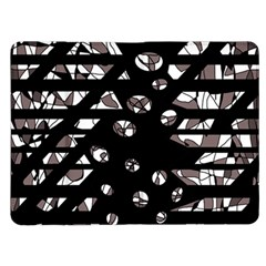 Gray abstract design Kindle Fire (1st Gen) Flip Case
