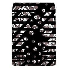 Gray abstract design Flap Covers (L)