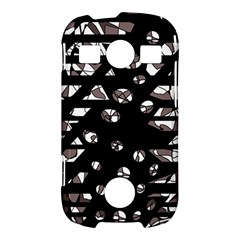 Gray abstract design Samsung Galaxy S7710 Xcover 2 Hardshell Case