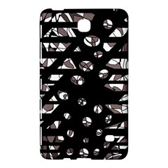 Gray abstract design Samsung Galaxy Tab 4 (7 ) Hardshell Case