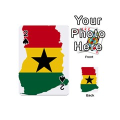 Flag Map of Ghana Playing Cards 54 (Mini)