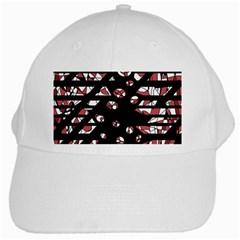 Red freedam White Cap